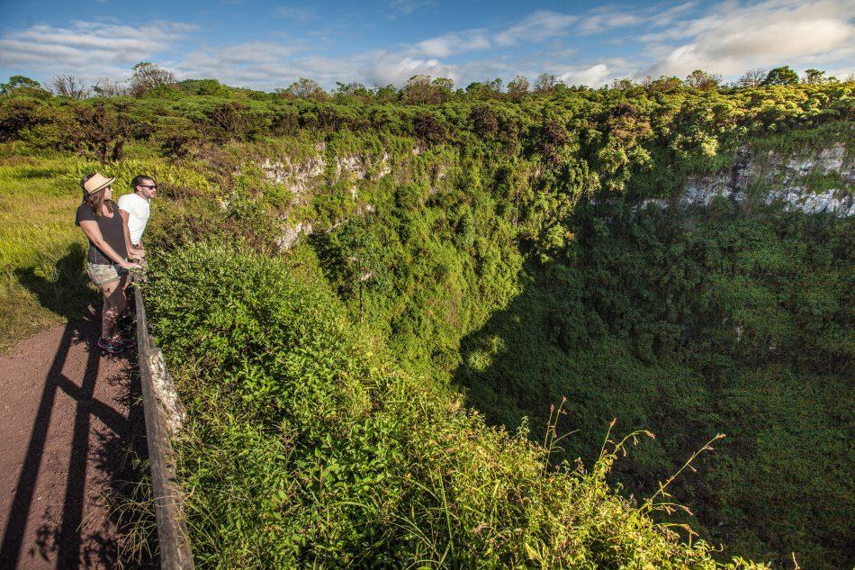 Los Gemelos, Santa Cruz, Galapagos Islands