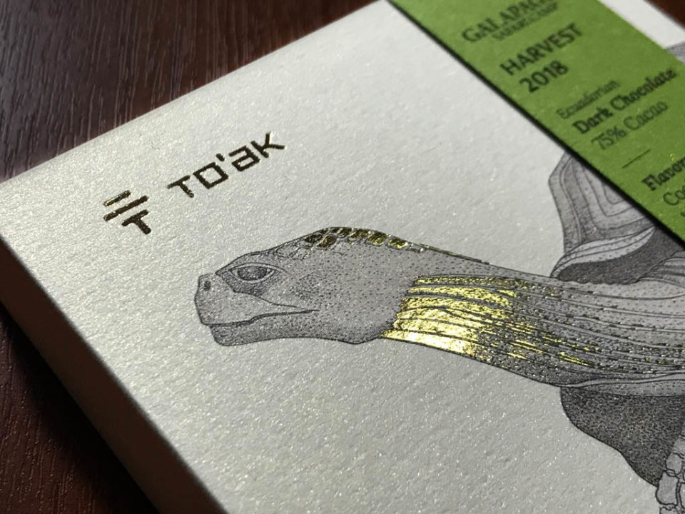 Toak Galapagos Chocolate Bar